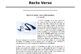 A découvrir: la nouvelle collection «Recto Verso»