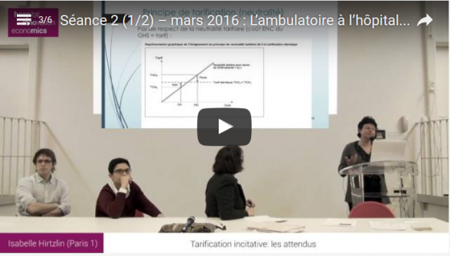 (replay) Cycle – «Innovations organisationnelles : Quels enjeux économiques pour les établissements hospitaliers ?»