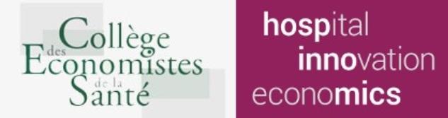 Matinée du Collège des Economistes de la Santé : 21 juin 2018